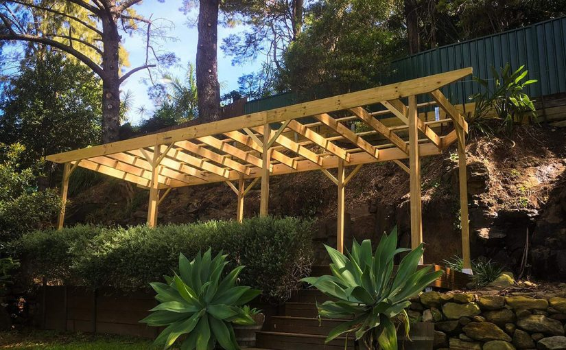 Image of Backyard Pergola