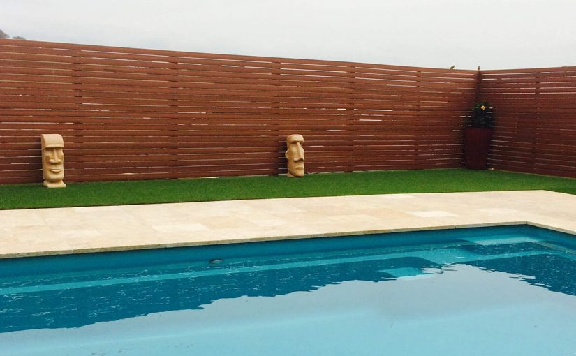 image of pool decking