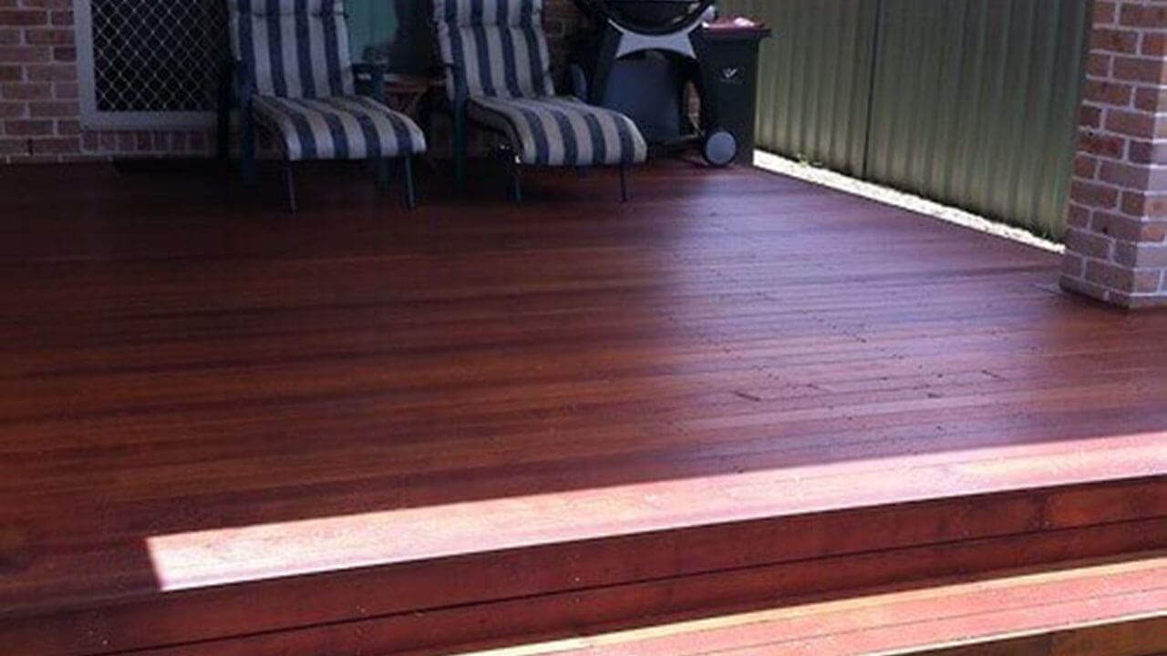 Image of relaxation deck