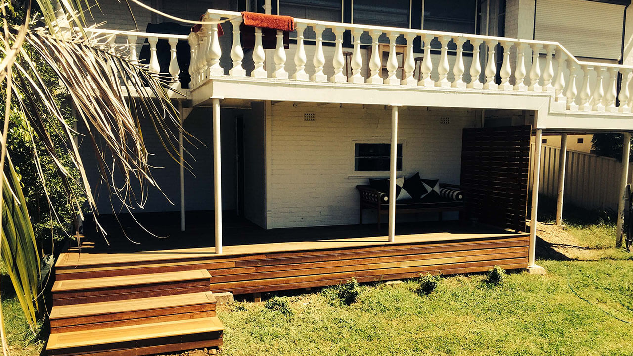 Image of veranda decking